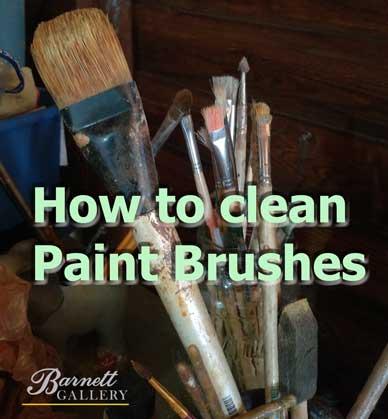 how-to-clean-paint-brushes-barnett-art-gallery-greenville-sc