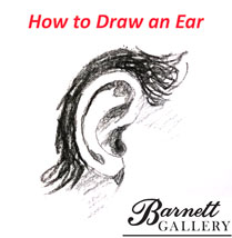 How to draw an ear realistic and easy barnett gallery